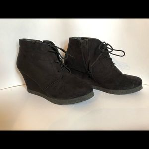 Women's booties size 8